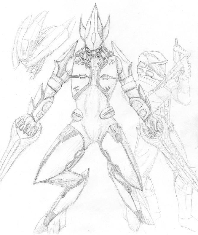 Halo Characters Drawings How to Draw Halo 4 Characters